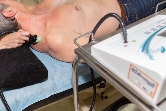 Diatermia capacitativa como tratamiento fisioterapia Malaga para latigazo cervical
