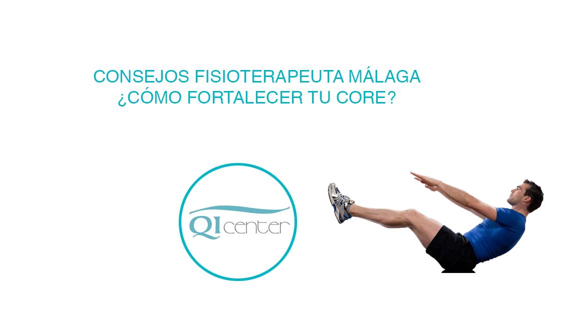 Cabecera fortalecer core con fisioterapia malaga