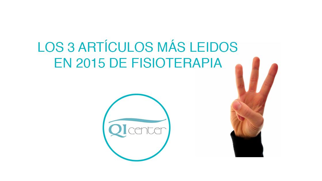 Fisioterapia Málaga TOP 3 artículos 2015