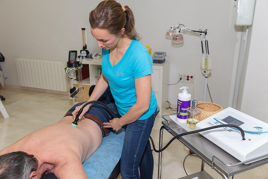 Fisioterapeuta Málaga tratamiento dolor de espalda