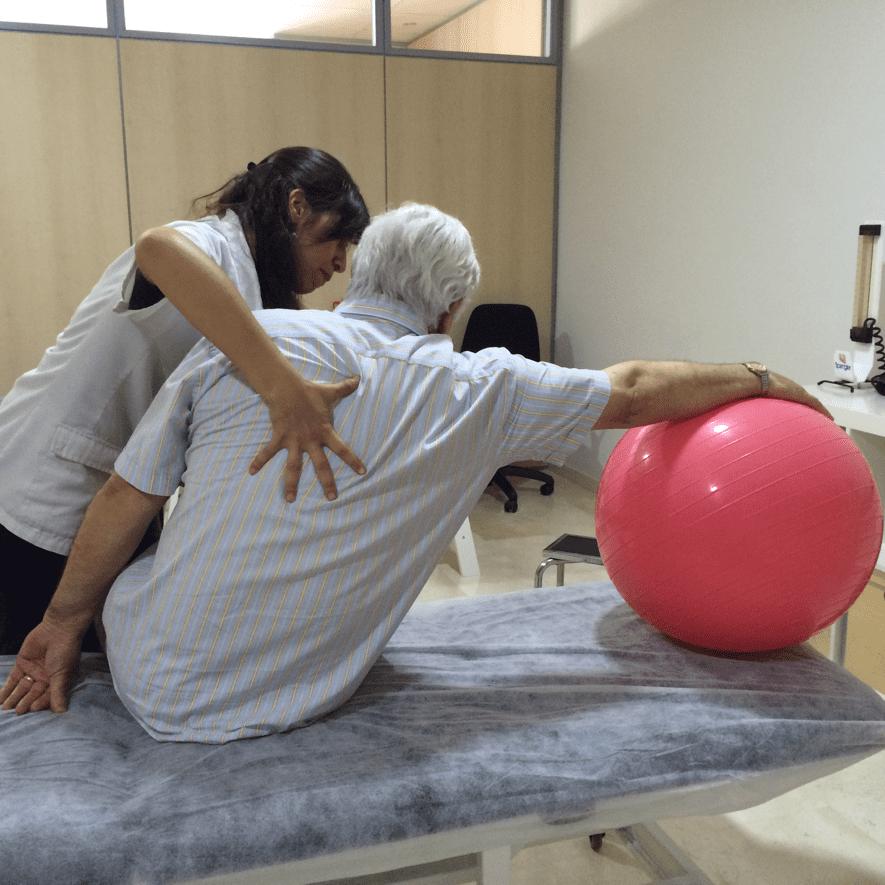 fisioterapia Málaga neurológica paciente
